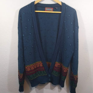 Vtg. 1990's Santana Cardigan Sweater